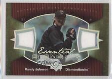 2007 Upper Deck Elements Essential Dual Memorabilia #RJ Randy Johnson Card
