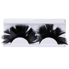 False Feather Eyelashes Fancy Makeup Cosmetic Eye Lashes Party Club Decoration