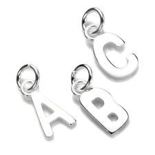 Abalorio Plata de Ley Forma de Letras del Abecedario|Alfabeto|925|A a Z