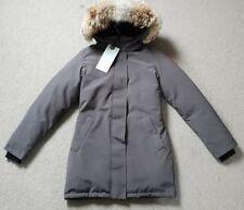 Canada Goose Victoria Parka Ladies Damen Down Daunen Jacke Coyote Fur Grey XS XL