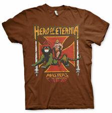 Masters of the Universe He-Man Hero of Eternia MotU Männer Men T-Shirt Braun