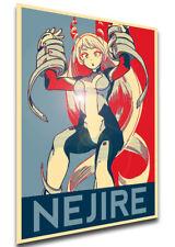 Poster Propaganda - My Hero Academia - Nejire Hado - MA0504