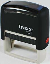 BüroStempel AdressStempel TextStempel Stempel  3 Zeilen  18x48 mm schwarz   Neu