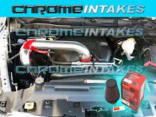 2009-2014/09 10 11 12 13 14 DODGE RAM 5.7 5.7L V8 HEMI COLD AIR INTAKE RED+K&N F