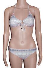 Chiemsee blanche [ gr. XS - S] Bikini con laccio INTORNO AL COLLO navygrau