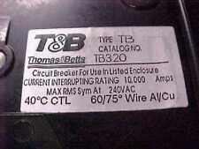 Thomas&Betts T&B Breaker TB320 20A 20 Amp  3P   H-47C