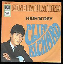 """7""""@ Cliff Richard @ Congratulations @ Top Zustand @1968"""
