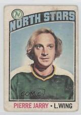 1976-77 O-Pee-Chee #49 Pierre Jarry Minnesota North Stars Hockey Card