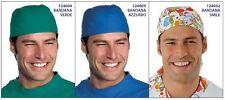BANDANA MEDICO DOTTORE INFERMIERE DELLA ISACCO 6 MODELLI NUOVA MADE IN ITALY