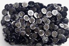 18mm 23mm Light Grey Pearlescent Matt Metal Shank Buttons Button MB191A MB191B