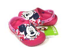 Genuine Crocs Kids Girls Disney Cars 3 Cruz Pink Light Up Clogs Sandals Size C9