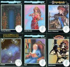 DONJONS & DRAGONS 6 Cartes Neuves de 1992 (DUNGEONS) Lot N° 115