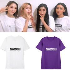 Kpop Mamamoo T-Shirt  New Korean Fashion Tshirt Women Men