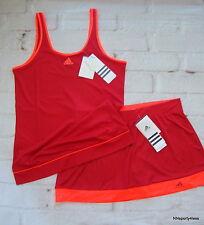 Adidas Women's New Galaxy Tennis Tank Top AA7170 Or Skort Skirt Shorts AA7175