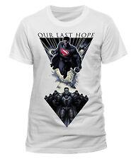 Superman la esperanza pasada hombre insignia de General Zod de acero DC Comics hombres hombres camiseta