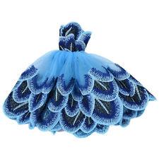 Moda vestido de ropa hecha a mano para Barbie muñeca estilo difereFWS