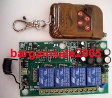 Universal Remote Control Switch & Receiver AC/DC load 240V12A 200m 4CH RSAH2TLM4