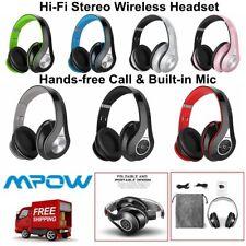 Mpow 059 Bluetooth Headphones Over Ear Hi-Fi Stereo Wireless Headset Foldable