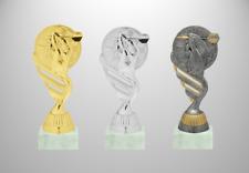 Darts Pokal  Dartpfeil Figur Höhe 15cm drei Farben mit Sockelpersonalisierung
