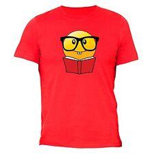 Nerd Emoji T-shirt Book Glasses Funny Icons Love Bae Boo Heart Smiley Gift Tee