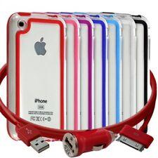 Housse Etui Coque Bumper pour Apple iPhone 3G/3GS + chargeur auto