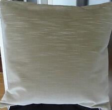 Beis 100% de algodón cubierta Cojín de terciopelo