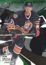 2003-04 Black Diamond Green Parallel Hockey Cards Pick From List
