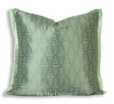 Zoffany Juno Luxury Designer Geometric Grey Fabric Cushion Pillow Cover