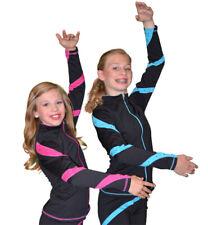 Chloe Noel J36 Spiral Skating Jacket with Rhinestones