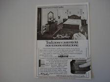 advertising Pubblicità 1981 MOBILI MASTRO CAPELLINI