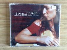PAOLA TURCI - ADORO I TRAMONTI DI QUESTA STAGIONE - RARO CD SINGOLO SIGILLATO