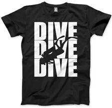 Dive Dive subacqueo da uomo unisex T-shirt