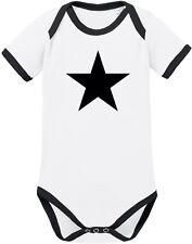 BLACK STAR Ringer Body BIO-Baumwolle, weiß/schwarz von Racker´n´Roll