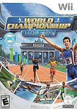 Nintendo Wii : World Championship Athletics VideoGames