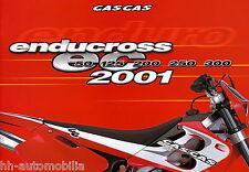 GAS GAS Endurocross prospetto 2001 E F I GB D J BOY rookie EC 125 200 250 300
