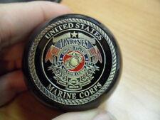U.S. Marine Corp Challenge Coin Pool Ball Shift Knob Jeep YJ, TJ, JK, and others