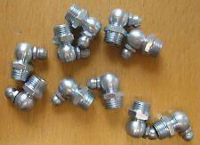 Set of 10 M10x1 90 Deg Grease Nipples