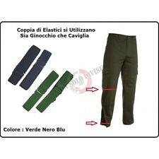 Coppia di Elastici per Sbuffi Divisa Militare Marina Esercito Aeronautica Art.NS