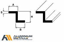Aluminium Z-Profil Alu AlMgSi05 Profil Winkel S-Profil 6060 Stab Aluprofil Z Alu