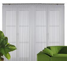 Fertig-Stores Hanne 8028 halbtransparent weiß auf Faltenband / 20 Größen