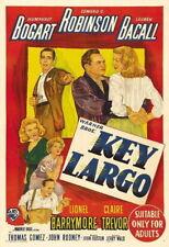 65752 Key Largo Movie Humphrey Bog FRAMED CANVAS PRINT Toile