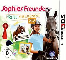 Sophies Freunde: Reit-Champion 3D (Nintendo 3DS, 2013, Keep Case)