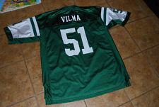 New York Jets Green Adult XL Jonathan Vilma #51 jersey by Reebok
