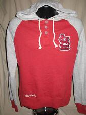 MLB St Louis Cardinals Grand Slam Hoody Hooded Sweatshirt Womens Sizes Nwt