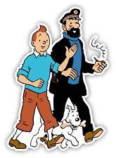Tintin Captain Haddock Cartoon Sticker Decal laptop wall car phone Kids