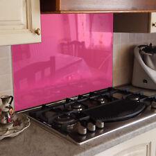 KÜCHENRÜCKWAND Spritzschutz Küche Gehärtetes Glas pink