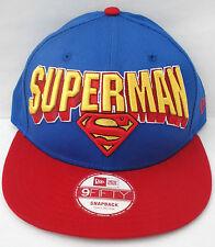 New Era 9fifty Héros Superman Snapback Cap bloc