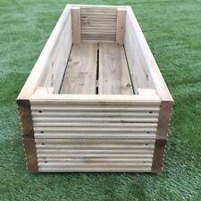 Large Decking Wooden Garden Planter 0.6M (2ft) 1.2M (4ft) or 1.8M (6ft)