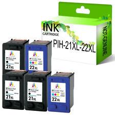 Lot Ink Cartridge PP® fits for HP 21XL 22XL Deskjet D2460 2149 F2280