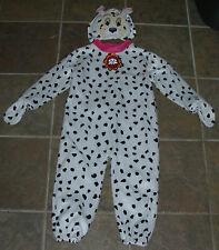M & S DISNEY Dog Puppy DALMATIAN Fancy Dress Halloween Kids COSTUME 2/4